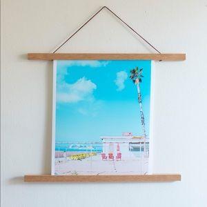 """""""Malibu Blue"""" - 11x14 Wall Art Print"""